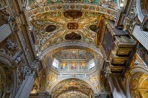 Santa Maria Maggiore Basilica, Bergamo, Lombardy, Italy by Carlo Morucchio