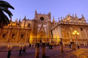 Seville Cathedral, Seville, Andalucia, Spain by Carlo Morucchio