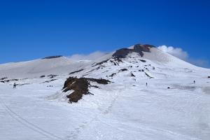 Summit craters of Mount Etna, UNESCO World Heritage Site, Catania, Sicily, Italy, Europe by Carlo Morucchio