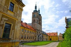 Tepla Abbey Is a Premonstratensian Monastery in the Western Part of Bohemia, Czech Republic, Europe by Carlo Morucchio