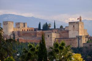 The Alhambra, Granada, Andalucia, Spain by Carlo Morucchio