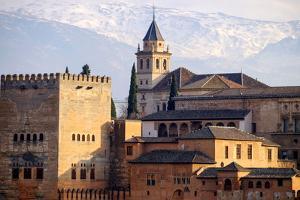 The Alhambra, Granada, Andalucia, Spain by Carlo Morucchio