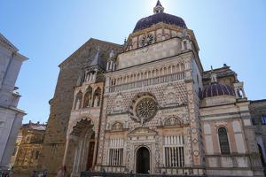 The Cappella Colleoni, Bergamo, Lombardy, Italy by Carlo Morucchio