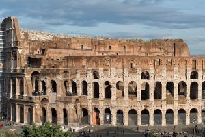 The Colosseum, UNESCO World Heritage Site, Rome, Lazio, Italy, Europe by Carlo Morucchio