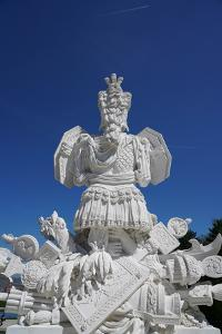 The Gloriette in the Schonbrunn Palace Gardens, Vienna, Austria by Carlo Morucchio