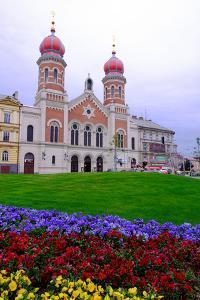 The Great Synagogue, Pilsen (Plzen), Western Bohemia, Czech Republic, Europe by Carlo Morucchio