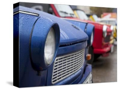 The Old Trabant Automobiles, Produced in the Former East Germany, Berlin, Germany, Europe