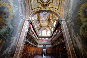 The Sacristy of San Domenico Maggiore Church Housing Coffins of Members of Royal Aragonese Family by Carlo Morucchio