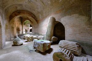 The Underground of the Flavian Amphitheater, Pozzuoli, Naples by Carlo Morucchio