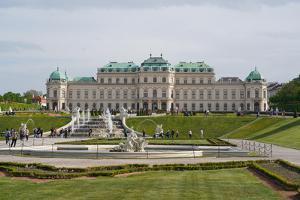The Upper Belvedere, Vienna, Austria by Carlo Morucchio