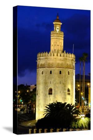 Torre Del Oro (Gold Tower), Museo Naval, Seville, Andalucia, Spain