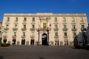University of Catania, Piazza Universite, Catania, Sicily, Italy, Europe by Carlo Morucchio