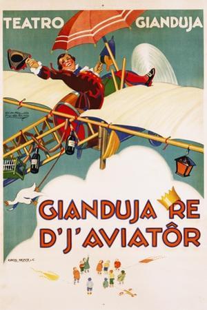 Gianduja Re D'J'Aviator Poster