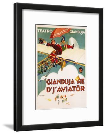 Gianduja Re D'J'Aviator Poster