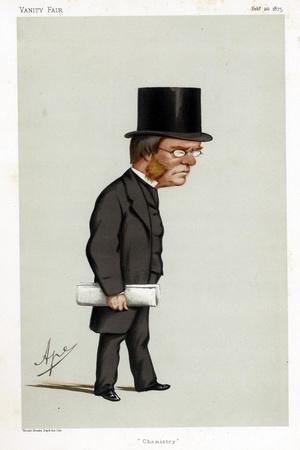 Lyon Playfair, Scottish Chemist, Politician and Administrator, 1875