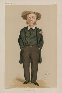 Mr Albert Grant Mp; Leicester Square; 21 February 1874; Vanity Fair; Cartoon by Carlo Pellegrini