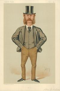 Mr Charles Henry Wilson, Hull, 21 February 1885, Vanity Fair Cartoon by Carlo Pellegrini