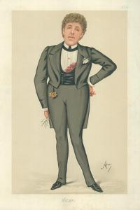 Mr Oscar Wilde, Oscar, 24 May 1884, Vanity Fair Cartoon by Carlo Pellegrini