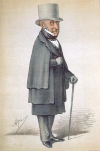 Roderick Impey Murchison, Scottish Geologist, 1870 by Carlo Pellegrini