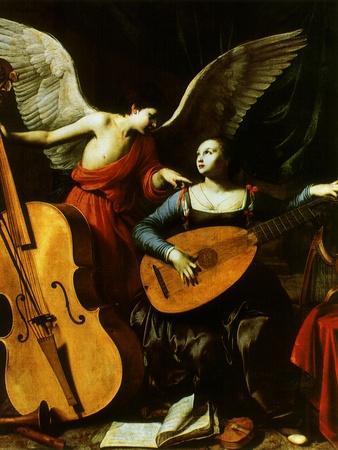 Saint Cecilia and the Angel, 1600