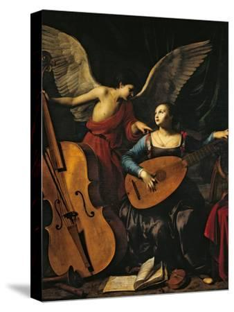 St Cecilia and the Angel