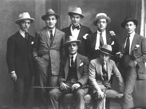 Group Portrait of Journalists from Popolo Di Trieste by Carlo Wulz