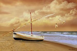 Soft Sunrise on the Beach 10 by Carlos Casamayor