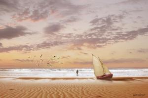 Soft Sunrise on the Beach 7 by Carlos Casamayor