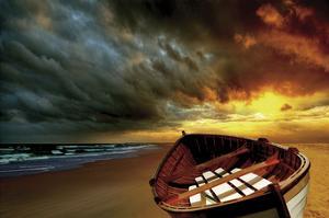 Soft Sunrise on the Beach 9 by Carlos Casamayor