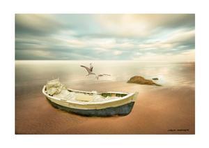 Sunrise on the Beach by Carlos Casamayor