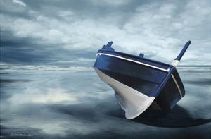 The Solitude of the Sea in Blue by Carlos Casamayor