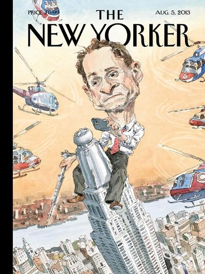 Carlos Danger - The New Yorker Cover, August 5, 2013-John Cuneo-Premium Giclee Print