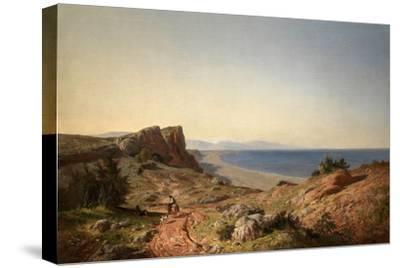Un Paisaje, Recuerdos de Andalucía, Costa del Mediterráneo, Junto a Torremolinos, 1860