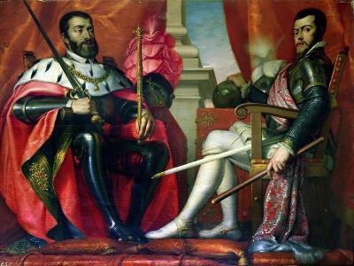 Carlos I and Felipe II--Giclee Print