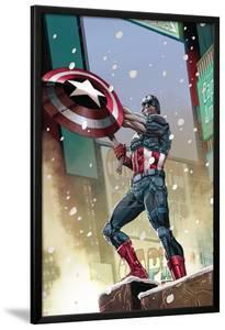 Captain America #11 Cover: Captain America by Carlos Pacheco