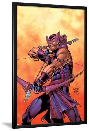 Hawkeye No.5 Cover: Hawkeye by Carlos Pacheco