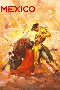 Mexico - Bullfighting Matador by Carlos Ruano Llopis