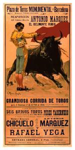 Plaza de Toros Monumental, Barcelona, 1936 by Carlos Ruano-Llopis