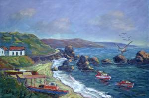 Fishermen's Rocks, 2004 by Carlton Murrell