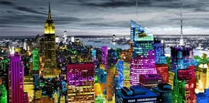 NYC In Living Color I by Carly Ames