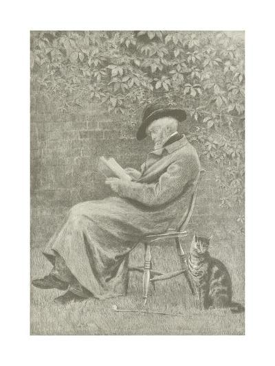 Carlyle at Chelsea-Helen Allingham-Giclee Print