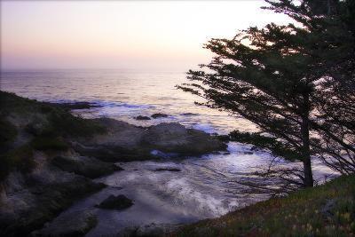 Carmel Highlands Sunset II-Alan Hausenflock-Photographic Print