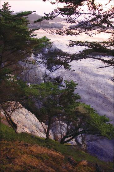 Carmel Highlands Sunset IV-Alan Hausenflock-Photographic Print