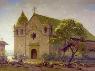 Carmel Mission-Sam Hyde Harris-Art Print