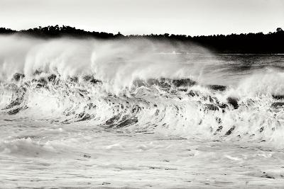 Carmel Waves II BW-Lee Peterson-Photographic Print