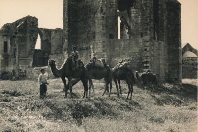 Carmelite and Armenian Churches at Martinengo Bastion, Famagusta, Northern Cyprus, 1936--Photographic Print