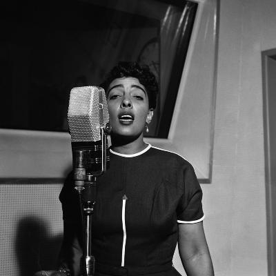Carmen McRae, CBS Radio 1955-G. Marshall Wilson-Photographic Print