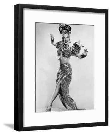 Carmen Miranda (Maria de Carmo Miranda de Cunha) American Singer Known as the Brazilian Bombshell