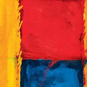 Abstract Composition in Red by Carmine Thorner