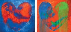 Contrasted Hearts by Carmine Thorner